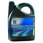 Полусинтетическое моторное масло GM Motor Oil Semi Synthetic 10W-40 5л