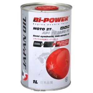 Полусинтетическое моторное масло Japan JO Bi-Power Moto 2T (1L)