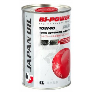 Полусинтетическое моторное масло Japan JO Bi-Power 10w40 SM/CF (1l)