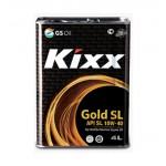 Полусинтетическое моторное масло KIXX GOLD SL 10W40 (4)