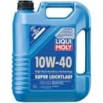 Полусинтетическое моторное масло Liqui Moly Super LEICHTLAUF 10W-40 HD (5)