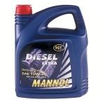 Полусинтетическое моторное масло MANNOL DIESEL EXTRA 10W-40 (5)