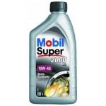 Полусинтетическое моторное масло MOBIL Super 2000 10W-40 (1)