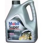 Полусинтетическое моторное масло MOBIL Super 2000 10W-40 (4)