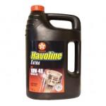 Полусинтетическое моторное масло Texaco HAVOLINE Extra10W-40 (5)