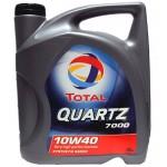 Полусинтетическое моторное масло TOTAL QUARTZ 7000 10W-40 (4)