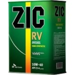 Полусинтетическое моторное масло ZIC RV CI-4 10w40 (4)
