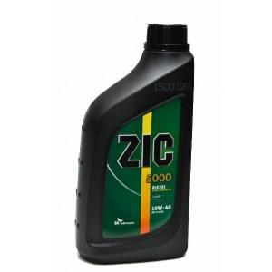 Полусинтетическое моторное масло ZIC 5000 SAE 10W40 CG/4SH (1)