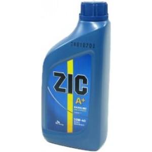 Полусинтетическое моторное масло ZIC A Plus 10W40 SM/CF (1)