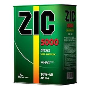 Полусинтетическое моторное масло ZIC 5000 10W40 (20)