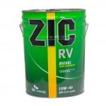 Полусинтетическое моторное масло ZIC RV CI-4 10w40 (20)