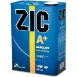 Полусинтетическое моторное масло ZIC A Plus 10W40 SM/CF (4)