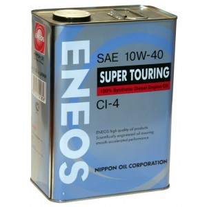 Синтетическое моторное масло ENEOS CI-4 10W-40 (4)