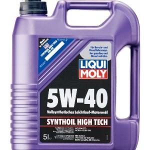 Синтетическое моторное масло Liqui Moly SYNTHOIL HIGH TECH 5W-40 HD (5)