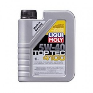 Синтетическое моторное масло Liqui Moly SYNTHOIL TOP TEC 4100 5W-40 HD (1)