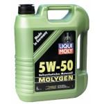 Синтетическое моторное масло Liqui Moly MOLIGEN 5W-50 HD (4L)