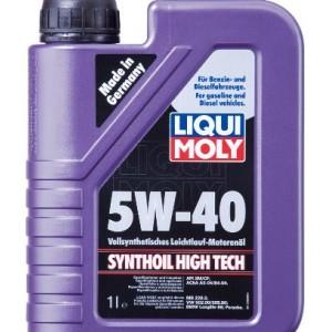 Синтетическое моторное масло Liqui Moly SYNTHOIL HIGH TECH 5W-40 HD (1)