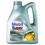 Синтетическое моторное масло Mobil Super 3000 5W-40 4л