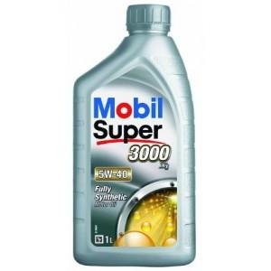 Синтетическое моторное масло MOBIL SYPER 3000 5W-40 (1)