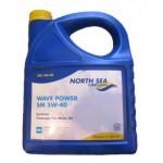 Синтетическое моторное масло Wave Power SM 5w40 (4)