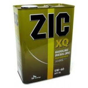 Синтетическое моторное масло ZIC XQ 5W40 SM 4л