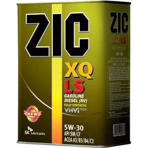 Синтетическое моторное масло ZIC XQ LS 5w30 4л