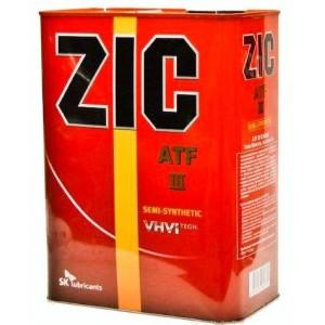 Трансмиссионное масло ZIC ATF III DEXTRON (4)