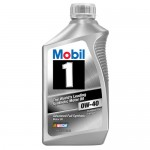 Синтетическое моторное масло MOBIL 1 0W40 (1)