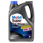 Полусинтетическое моторное масло MOBIL 10W40 Clean High Mileage (1)