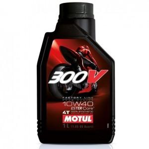 MOTUL 300V 4T Factory Line Road Racing SAE 10W40 (1л)