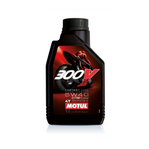 MOTUL 300V 4T Factory Line Road Racing SAE 5W40 (1л)
