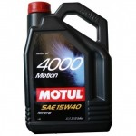 MOTUL 4000 Motion SAE 15W40 (4л)