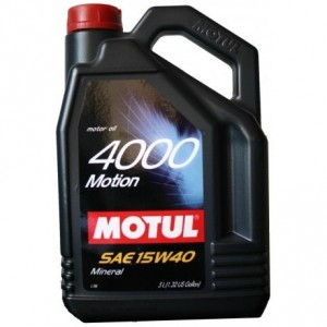 MOTUL 4000 Motion SAE 15W40 (5л)