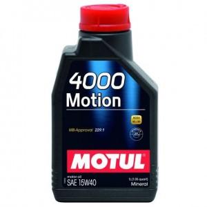 MOTUL 4000 Motion SAE 15W40 (1л)