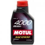 MOTUL 4000 Motion SAE 10W30 (2л)