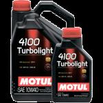 MOTUL 4100 Turbolight SAE 10W40 (4л)
