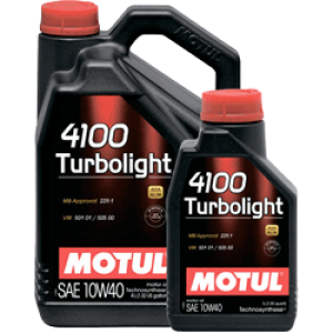 MOTUL 4100 Turbolight SAE 10W40 (1л)