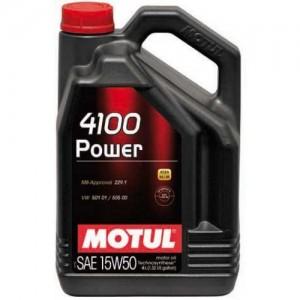 MOTUL 4100 Power SAE 15W50 (4л)